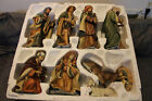 GRANDEUR NOEL Nativity Set Large Pieces Collectors Edition 9 Piece set