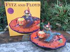 Fitz and Floyd Witch Hazel Chip and Dip Platter Bowl 2003 13