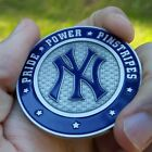 PREMIUM MLB New York Yankees Poker Card Protector Coin NEW Pride Power Pinstripe