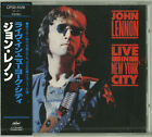 JOHN LENNON Live in New York City CD JAPAN NEW The Beatles CP32-5126 s5457