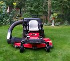 2014 Gravely zero turn mower 60 ZT HD Triple bagging system
