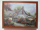 Thomas Kinkade Sweetheart Cottage Wooden Music Box - First Issue