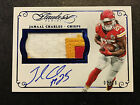 2015 Flawless Jamaal Charles autograph patch 20 auto