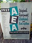 1957 AEA CAR ELECTRICAL AND FUEL SYSTEM parts catalog  FREE POSTAGE