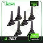 set of 6 New Ignition Coil fits CHEVROLET TRACKER 20L 25L 50072 5C1287