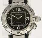Cartier Pasha 2790 Ceramic Seatimer Black Stainless Steel 40mm Date Automatic