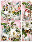 SET OF 12 EASTER 20 SCRAPBOOK CARD CRAFT EMBELLISHMENTS HANG GIFT TAGS