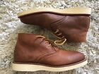 RED WING HERITAGE CHUKKA BOOT EXCELLENT CONDITION