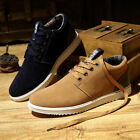 NEW FASHION Mens Casual Sports shoes Suede Sneakers Breathable Running Shoes