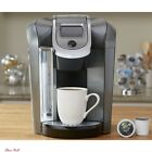 K Cup Programmable Coffee Maker Single Serve 12 Oz Brew Size Hot Water Platinum