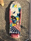 Vintage 1980's Very Rare OLD SCHOOL Skateboard with GREAT GRAPHICS Valterra Nash