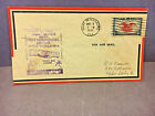 US AIR MAIL 1938 FIRST DAY COVER ST PETERSBURG W STAMP LOT2 VG