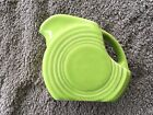 Vintage Fiesta Chartreuse Mini Disc Pitcher ~ Excellent ~ Lovely