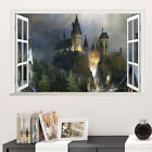 Harry Potter 3D Huge Wall decal 35 Hogwarts Room Decor Wall Stickers Wizard