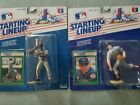 1989 ELLIS BURKS and ROGER CLEMENS Boston Red Sox Starting Lineup - Kenner slu