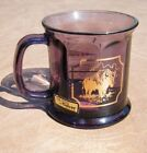 Collectible Culver Glass Coffee Mug Cup MONTANA 22k Trim Amethyst Purple NWT