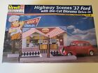 Revell Highway Scenes 37 Ford w/Diorama