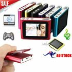 "Digital MP3 Music 1.8"" LCD Screen Media Video Movie Radio FM 6th MP4 Player UU"