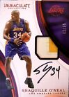16-17 Panini Immaculate Collection Shaquille O'Neal Patch Auto Autograph 02 25