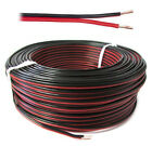 Wire multipolar Flat cable section 2x0,25 mmq Red Black