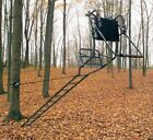 Ladder Tree Stand Installation Hoist System Easily Safely Set Up Tree Stand