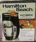 Hamilton Beach FlexBrew Programmable Single Serve Coffeemaker Black 49996