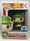 Funko Pop! Ad Icons Lucky Charms Cereal Leprechaun Funko Shop Exclusive #11 HTF!