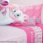 Pink Girls Disney Aristocats Marie Flores Sheet Set in Twin and Full Sizes