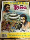 Ring Magazine poster of Muhammad Ali and Ken Norton. Autographed by Norton. COA