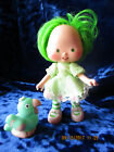 Strawberry Shortcake Lime Chiffon Parfait Parrot lot pet dolls vintage