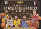 2012-13 PANINI PREFERRED BASKETBALL HOBBY 10 BOX CASE LEBRON KYRIE KAHWI GREEN