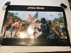 Star Wars Weekends Walt Disney World 2006 Poster Signed By Boba Fett Rare!