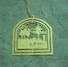 Gold Plated States Ornament, Christmas in Columbia The Gervais Street Bridg 1997