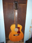 Guild Westerly F-2512E Maple Jumbo 12-String Acoustic-Electric Guitar w/