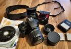Canon EOS Digital Rebel XS with lens filters extra batteries and more