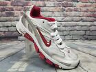 Womens NIKE AIR DUAL D shoes Silver Red Running sneakers 313649 061 Sz 9