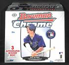 2013 Bowman Chrome Jumbo Baseball SEALED HOBBY BOX 13 cards pack 12 packs box