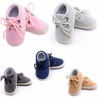 Kids Baby Boys Girls Soft Sole Crib Shoes Boots Anti slip Sneakers 0 18 Months