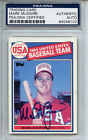 1985 Topps #401 Mark McGwire PSA DNA Certified Authentic Auto (rookie card)