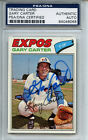 1977 Topps #295 Gary Carter PSA DNA Certified Authentic Auto
