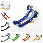 For HUSABERG FE450 FE570 2009-2011 / FX450 2010 Pivot Clutch Brake Levers CNC