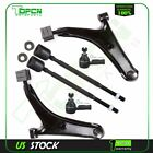 6pc Complete Front Suspension Kit Control Arm Ball Joint For 1995 1997 Geo Metro