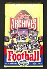2013 Topps Archives Football SEALED HOBBY BOX 24 packs 8 cards per pack
