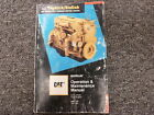 Caterpillar Cat 3116 ATAAC Engine Owner Operator Maintenance Manual 2BK1- 7SF1-