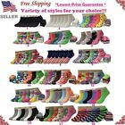Lot 6 12 Pairs Womens Assorted Styles Low Cut Ankle Socks Cotton Size 9 11 New