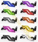 For KYMCO XCITING 250/300/400/500 Front Rear Brake Levers Short/Long Adjustable