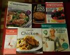 Lot 6 Vtg Advertising Recipe COOKBOOKS Tuna Weight Watchers Smoothies Powerfoods