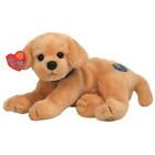 Ty Beanie Babies 2.0 Fletch Cover Dog Laying