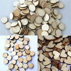 100PC Wooden Wood Base Disk Circle Pieces Painting Craft Cardmaking Scrapbooking