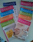 Weight Watchers Weekly Lot Of 11 2011 Magazines Recipes Ect